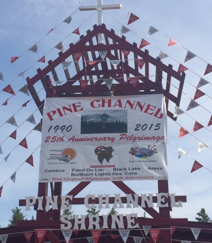 This year featured the 25th Anniversary of the Pine Channel Spiritual Pilgrimage. This event of the Athabasca Dene Peoples received its inspiration from the MFS Diocesan Synod, which recommended spiritual events for families and communities.