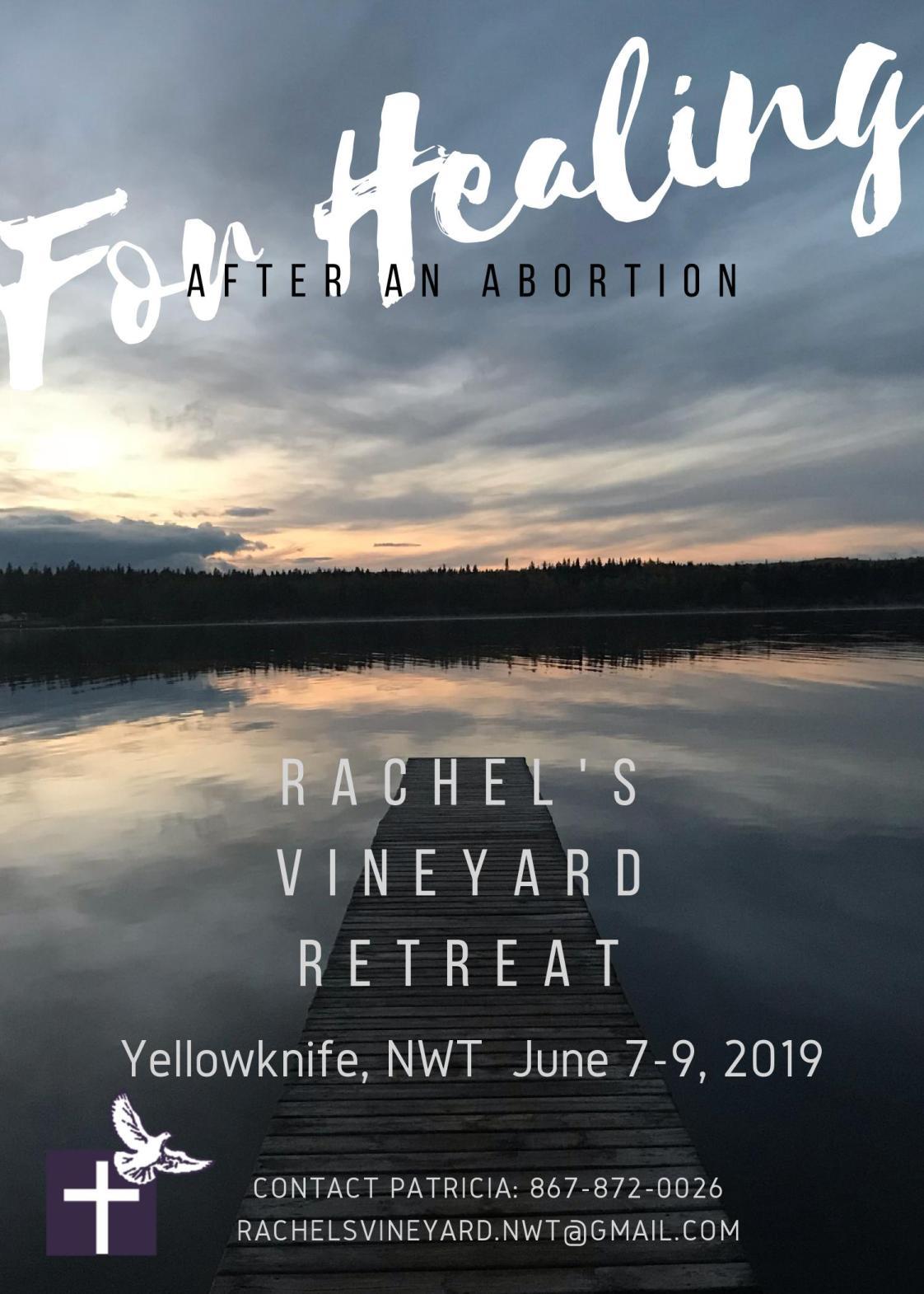 Rachel's Vineyard Poster